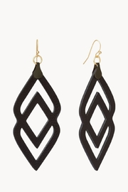 Spartina 449 Deco Leather Earrings - Front cropped
