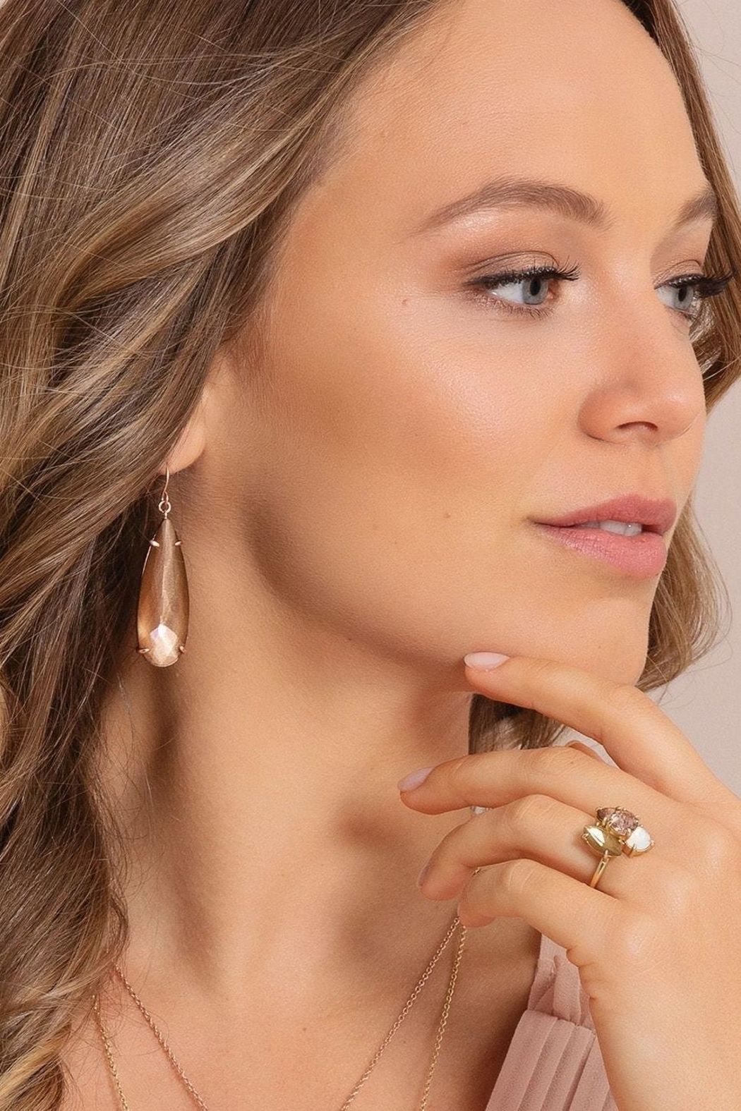 Spartina 449 Dewdrop Earrings - Front Full Image