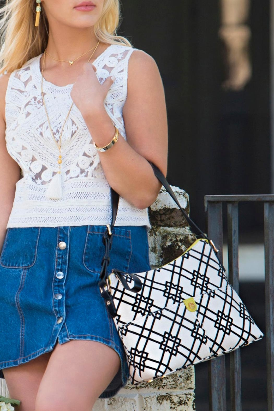 Spartina 449 Dixie Hobo Bag - Back Cropped Image