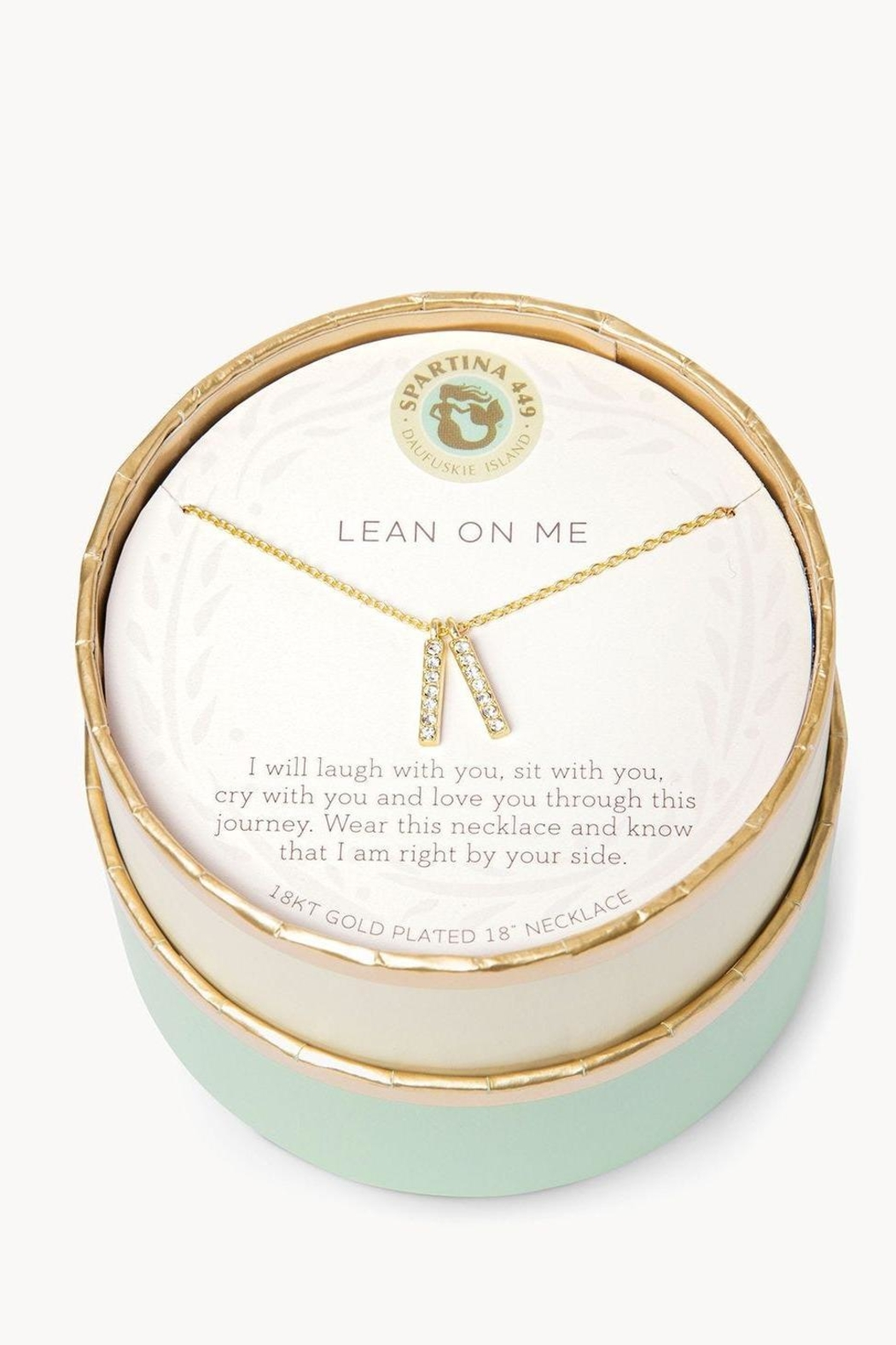 Spartina 449 Lean On Me Necklace - Front Full Image