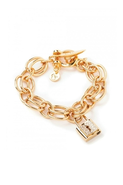 Shoptiques Product: Double Link Toggle-Bracelet