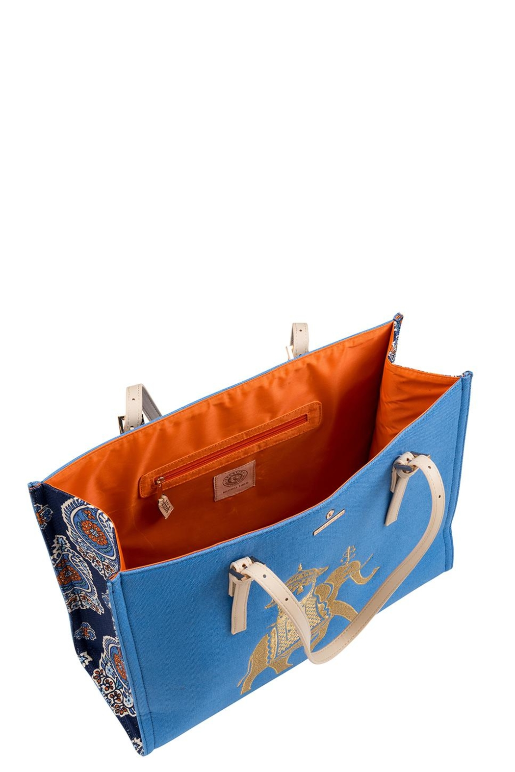 Spartina 449 Elephant Sand Tote Bag - Front Full Image