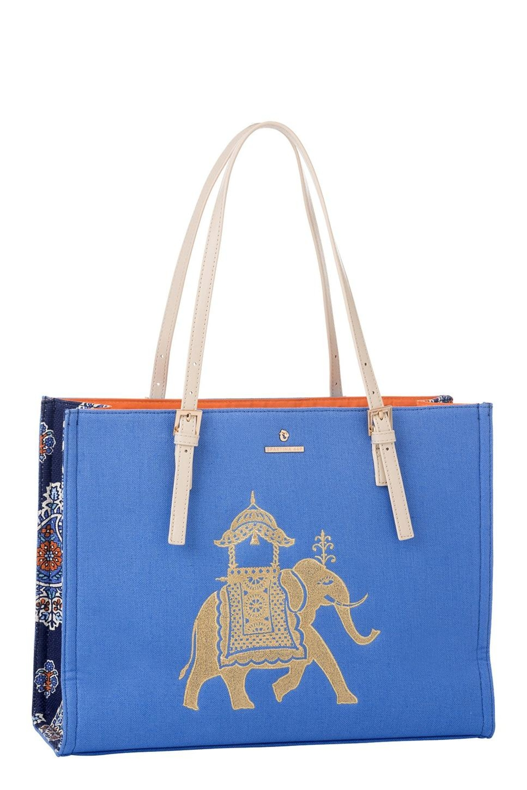 Spartina 449 Elephant Sand Tote Bag - Front Cropped Image