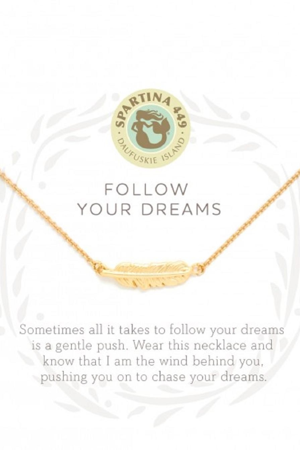 Spartina 449 Feather Necklace - Main Image