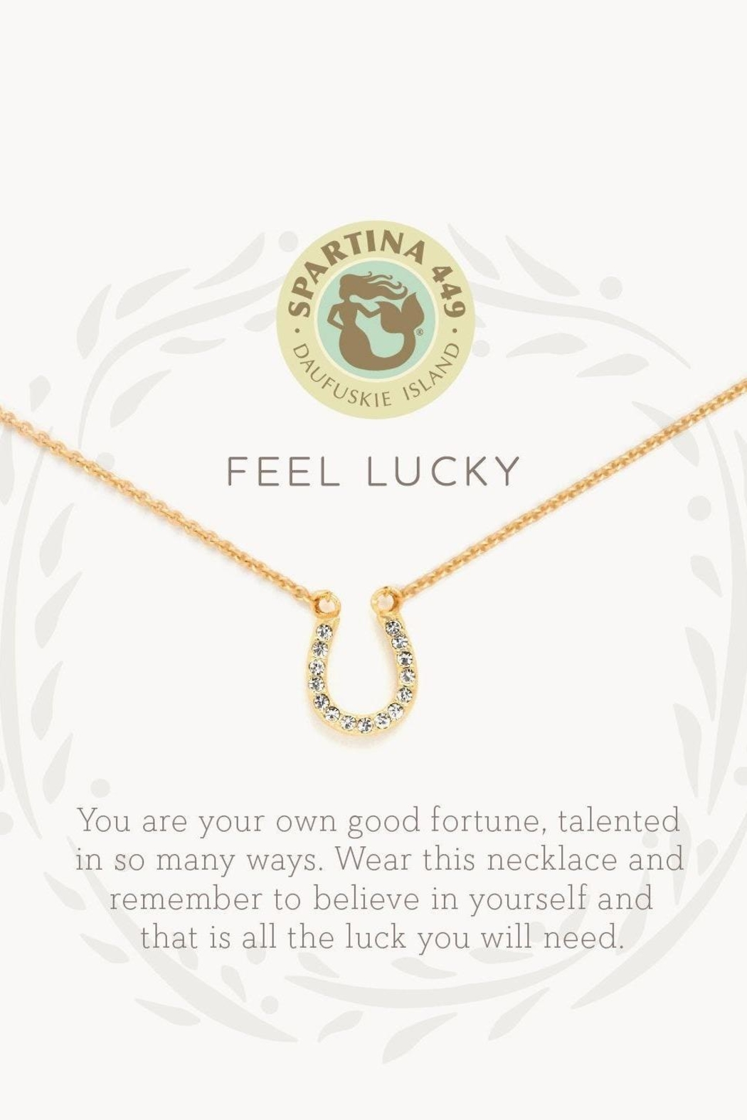 Spartina 449 Feel Lucky Necklace - Front Full Image