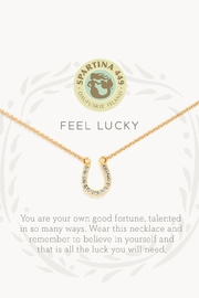 Spartina 449 Feel Lucky Necklace - Front full body