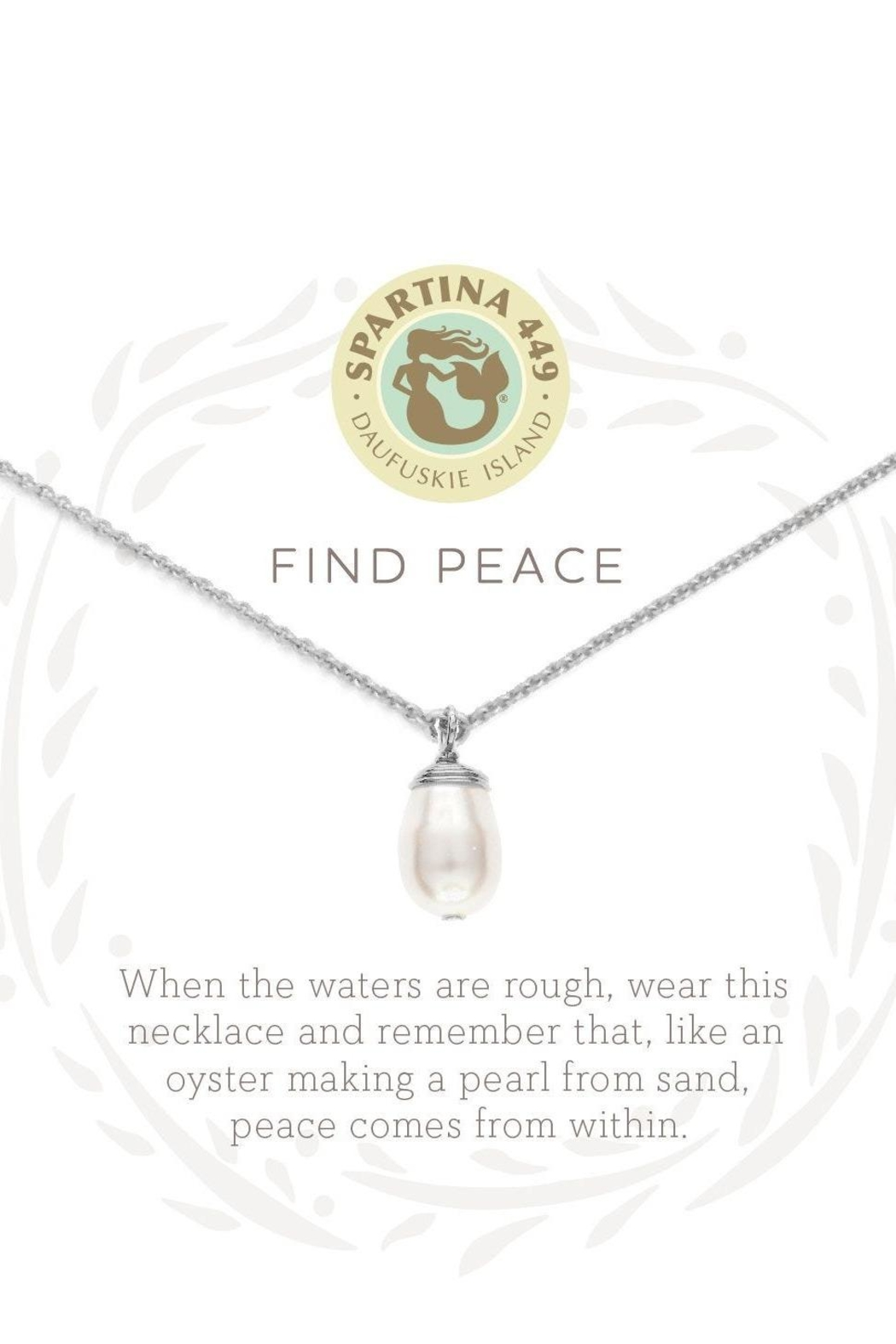 Spartina 449 Find Peace Necklace - Front Full Image