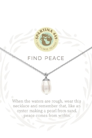 Spartina 449 Find Peace Necklace - Front full body