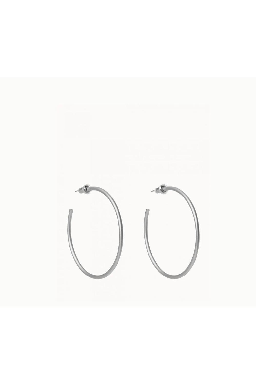 Spartina 449 Fine Line Hoops - Front Cropped Image