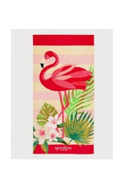 Spartina 449 Flamingo Beach Towel - Front cropped