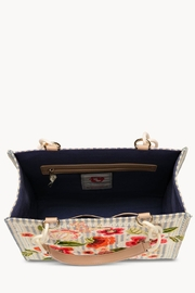 Spartina 449 Fleur-De-Vigne Box Tote - Front full body