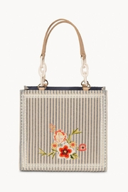 Spartina 449 Fleur-De-Vigne Box Tote - Side cropped