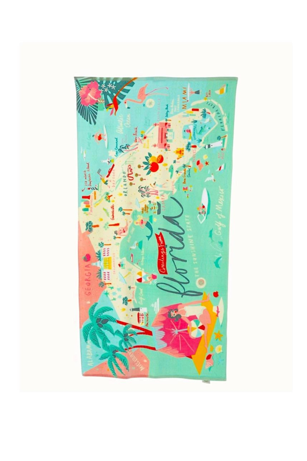 Spartina 449 Florida Beach Towel - Main Image