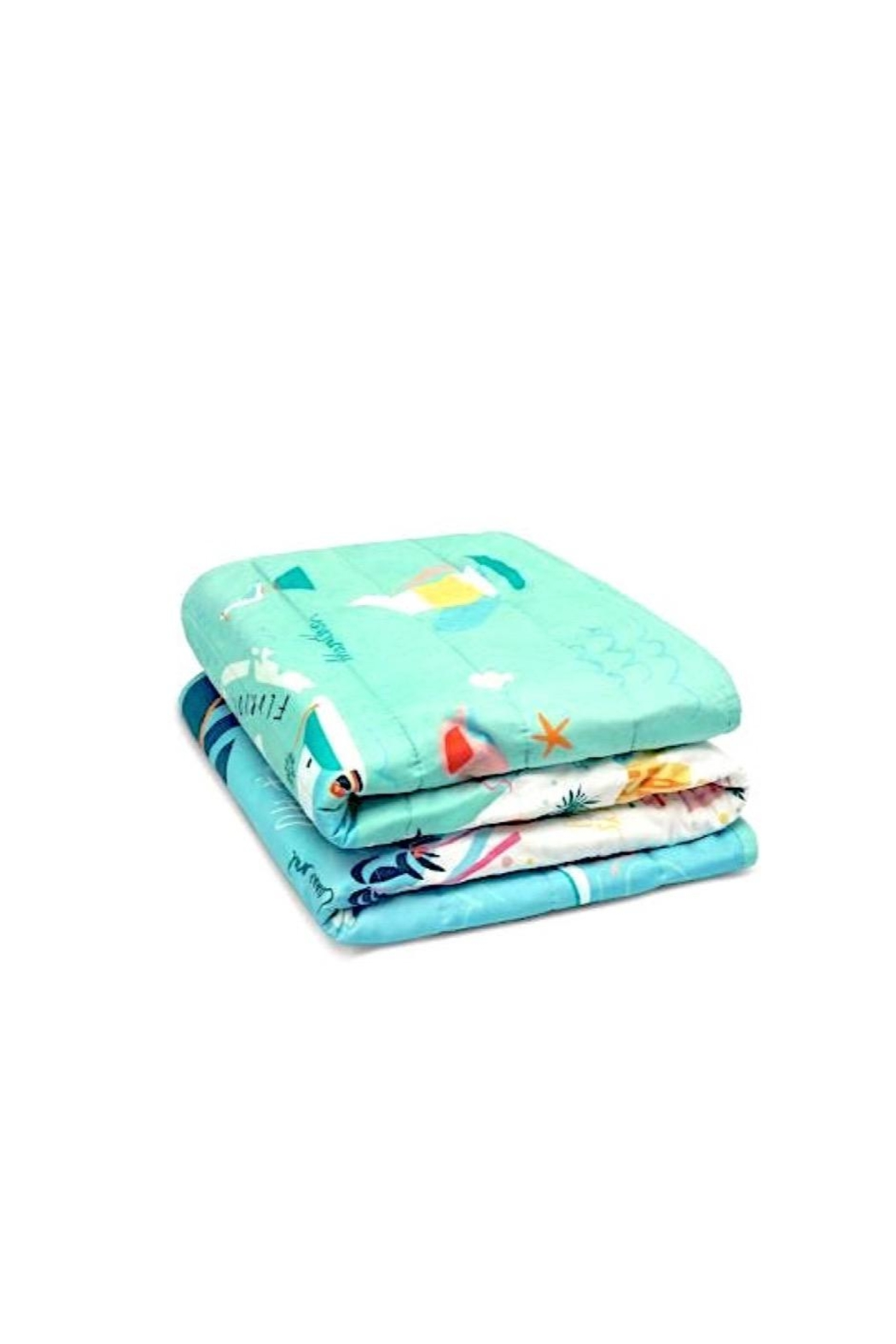 Spartina 449 Florida Quilted Throw - Side Cropped Image