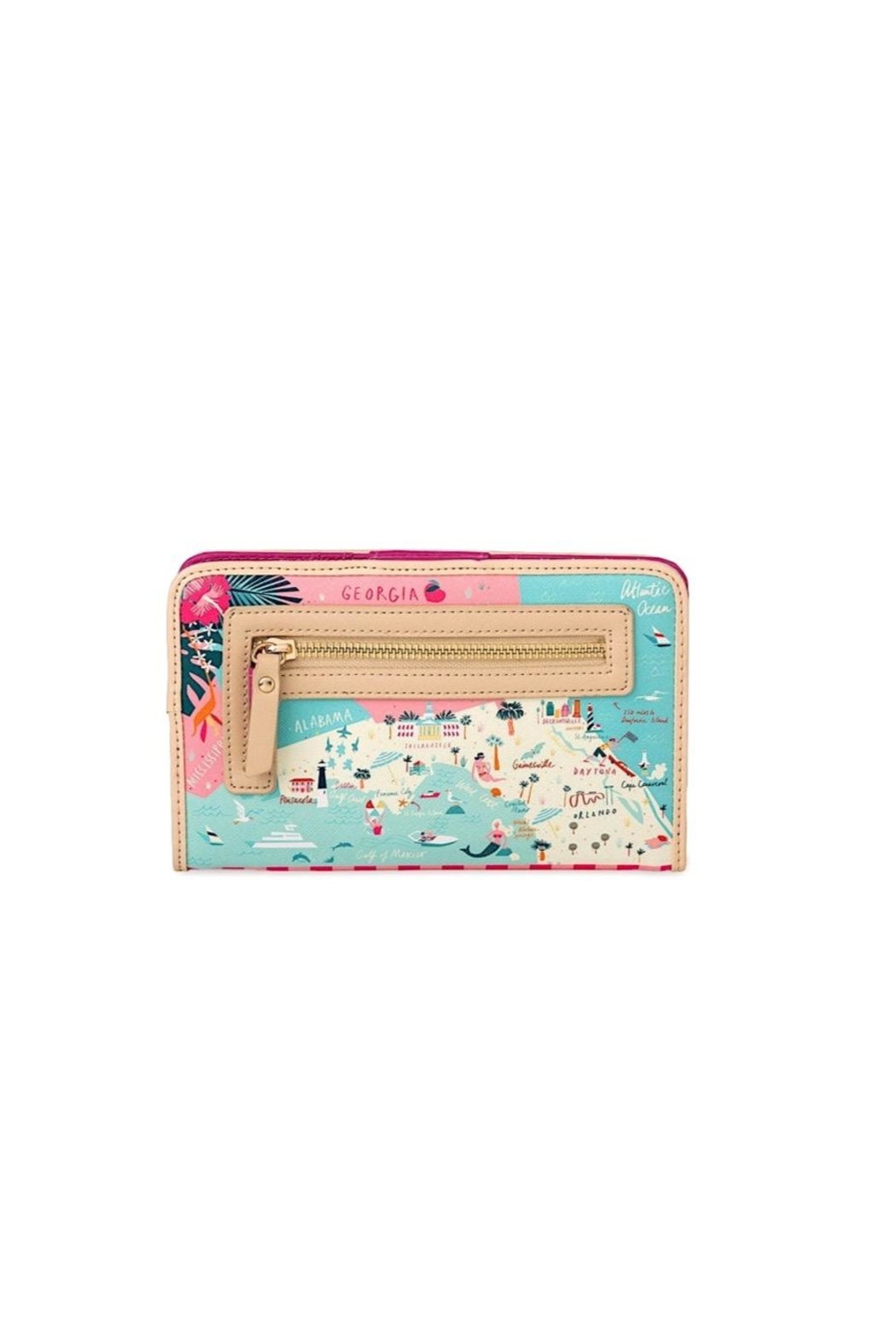 Spartina 449 Florida Snap Wallet - Side Cropped Image