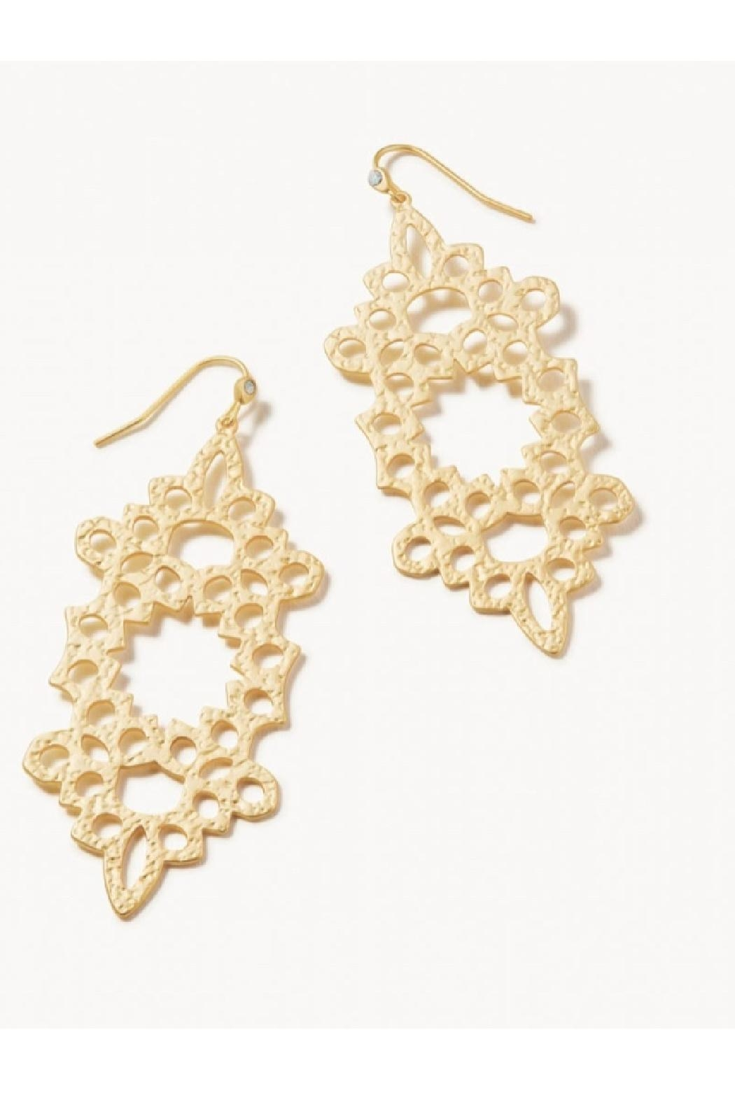 Spartina 449 Garden House Earrings - Front Cropped Image