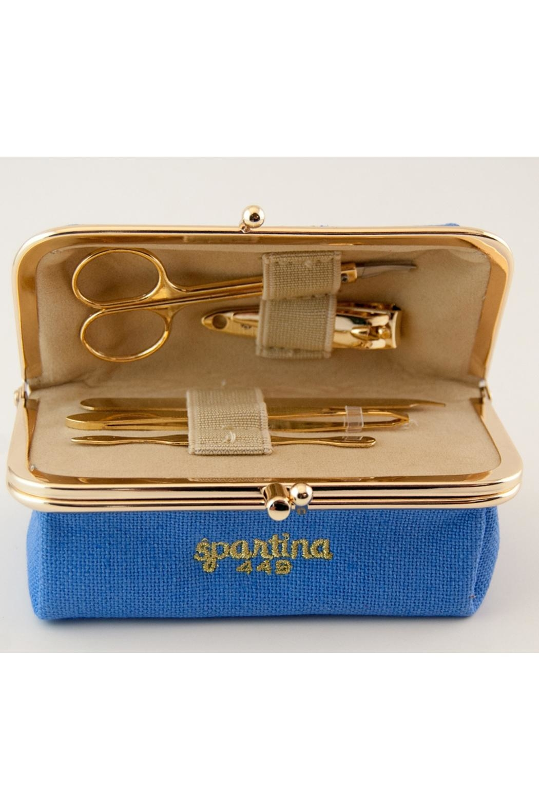 Spartina 449 Gold Manicure Set - Front Cropped Image