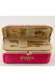 Spartina 449 Gold Manicure Set - Front full body