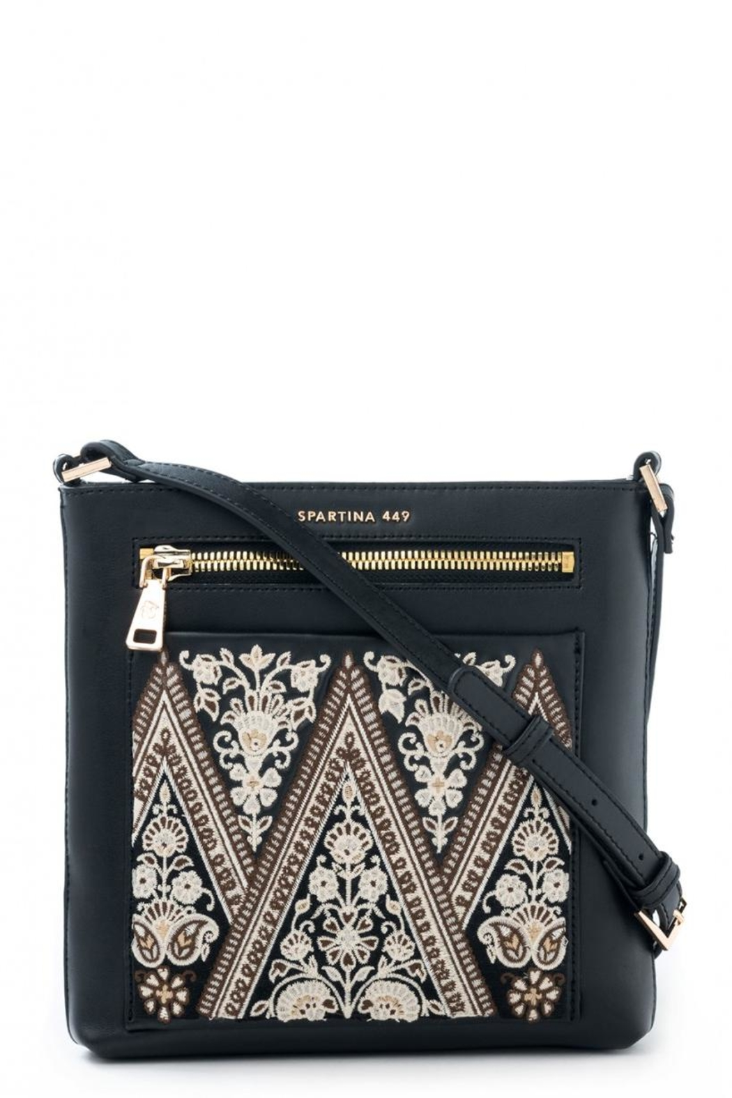 Spartina 449 Henna Crossbody - Front Cropped Image