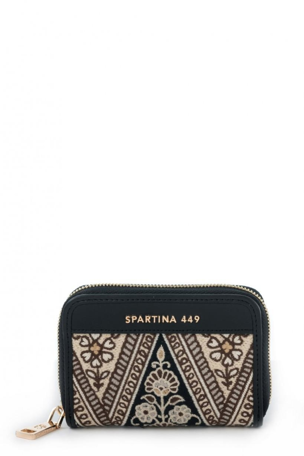 Spartina 449 Henna Zip Wallet - Front Cropped Image