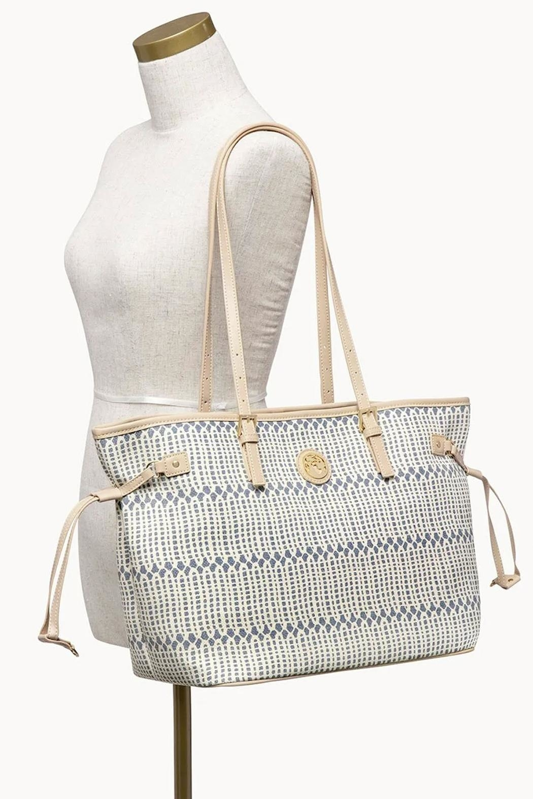 Spartina 449 Songbird Jetsetter Tote - Side Cropped Image