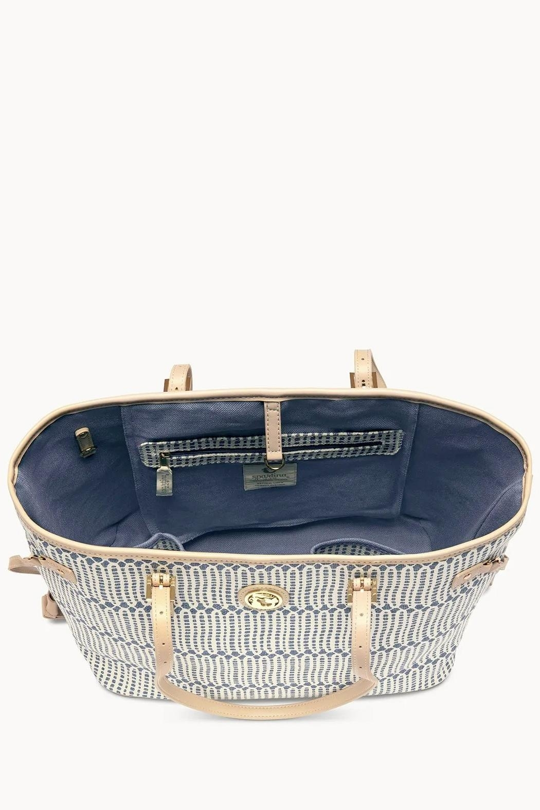 Spartina 449 Songbird Jetsetter Tote - Front Full Image