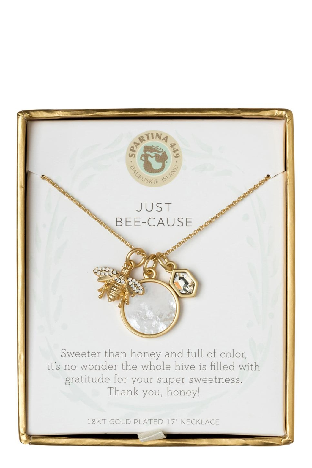 Spartina 449 Just Bee-Cause Necklace - Main Image