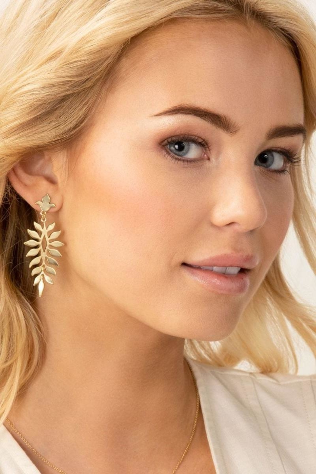 Spartina 449 Lighthouse Earrings - Front Full Image