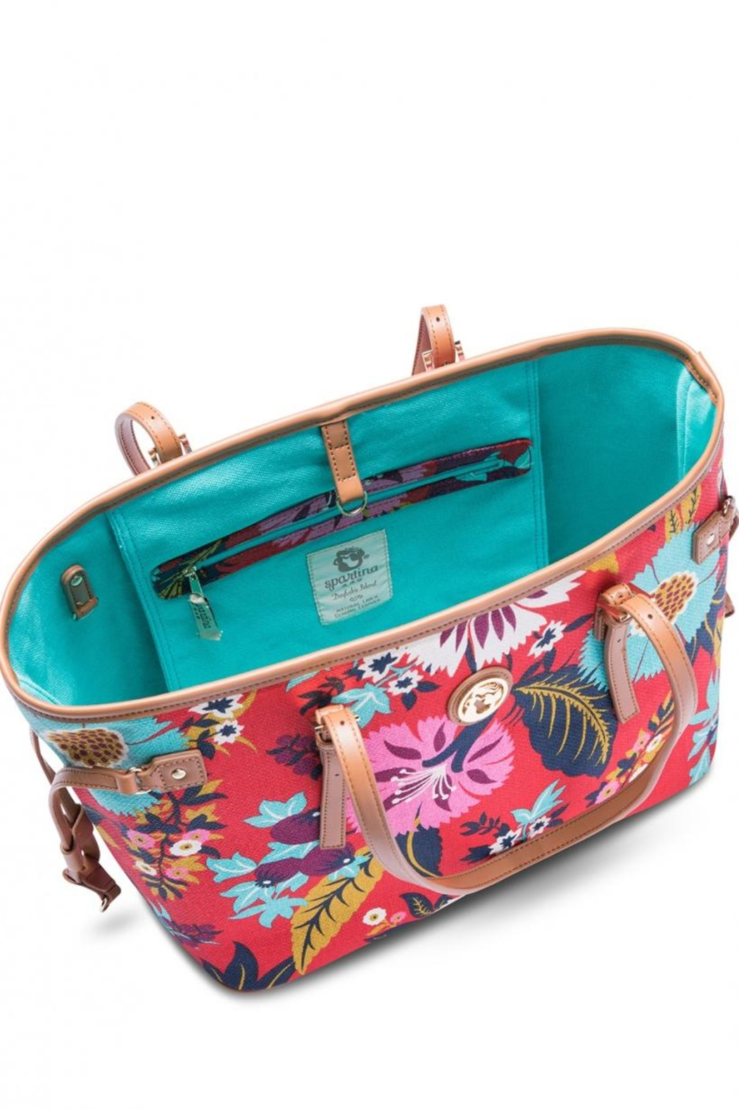 Spartina 449 Little Bermuda Tote - Back Cropped Image