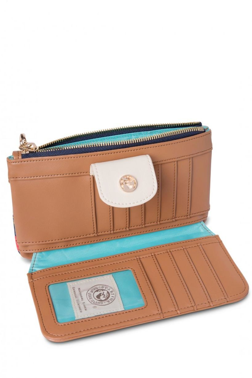 Spartina 449 Little Bermuda Wallet - Front Full Image