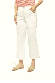 Spartina 449 Londyn Wide Leg Crop Jeans - Product Mini Image