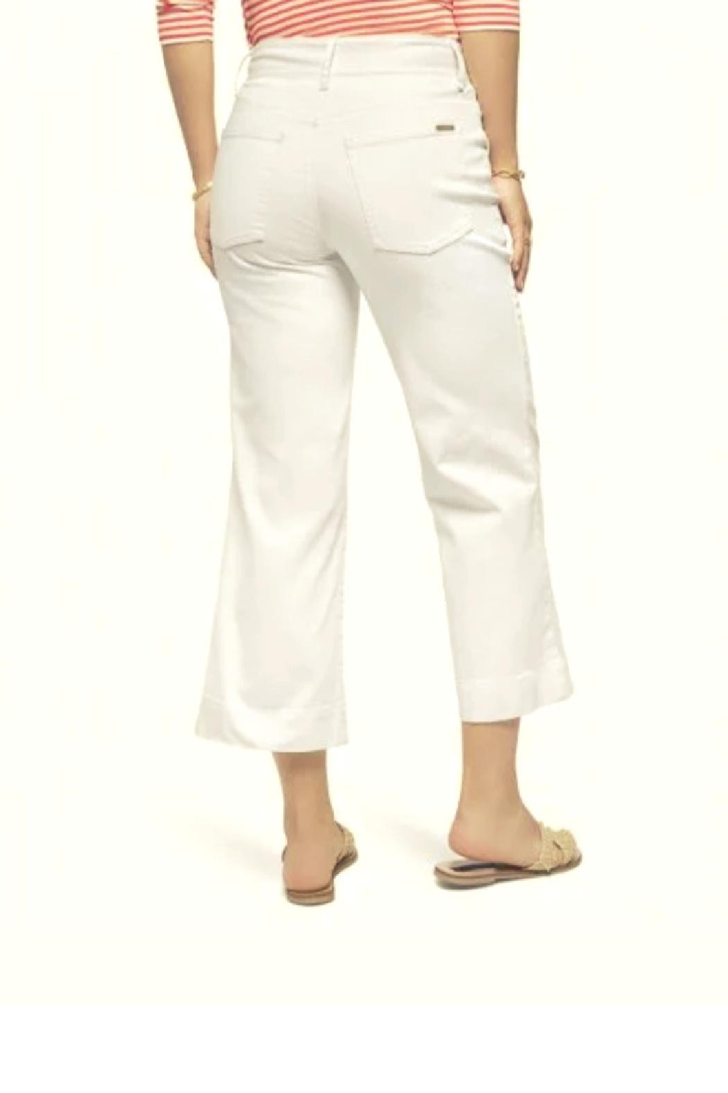 Spartina 449 Londyn Wide Leg Crop Jeans - Front Full Image