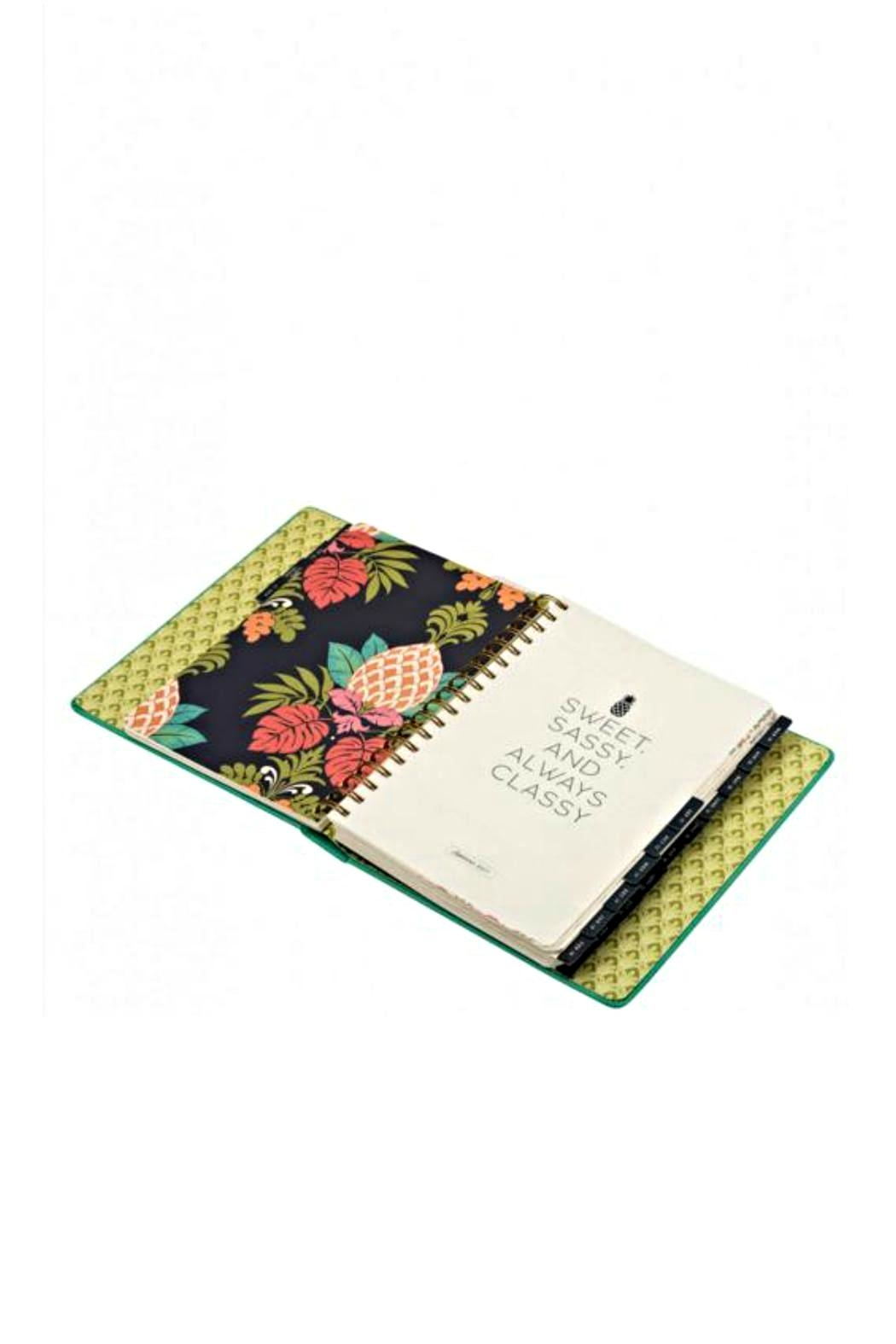 Spartina 449 Lotus 2017-2018 Planner - Side Cropped Image