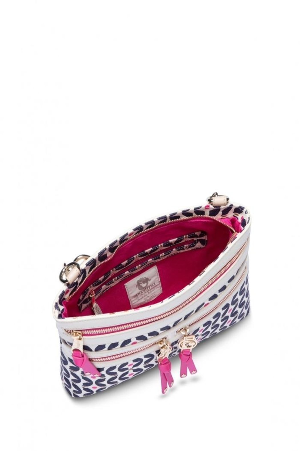 Spartina 449 Maritime Zipper Hipster - Front Full Image