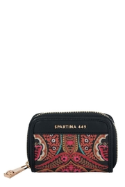 Spartina 449 Midnight Coral Wallet - Front cropped