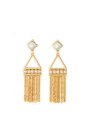 Spartina 449 Mod-Pearl Tassel Earrings - Front cropped