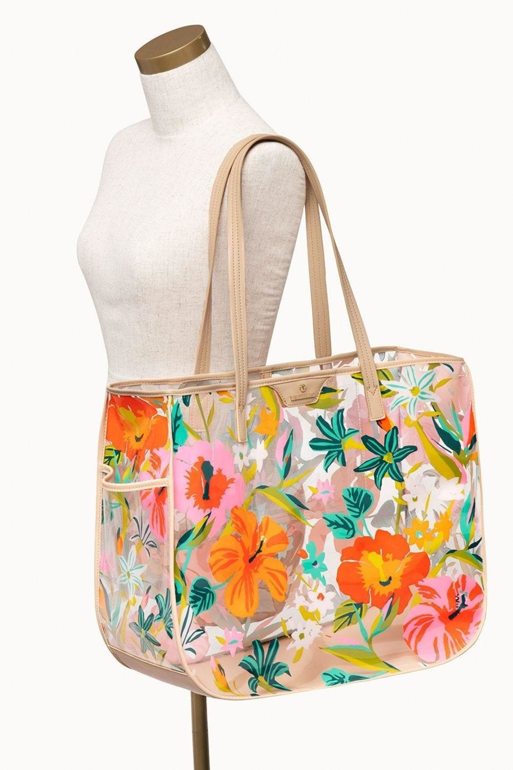 Spartina 449 Moreland Beach Tote - Back Cropped Image