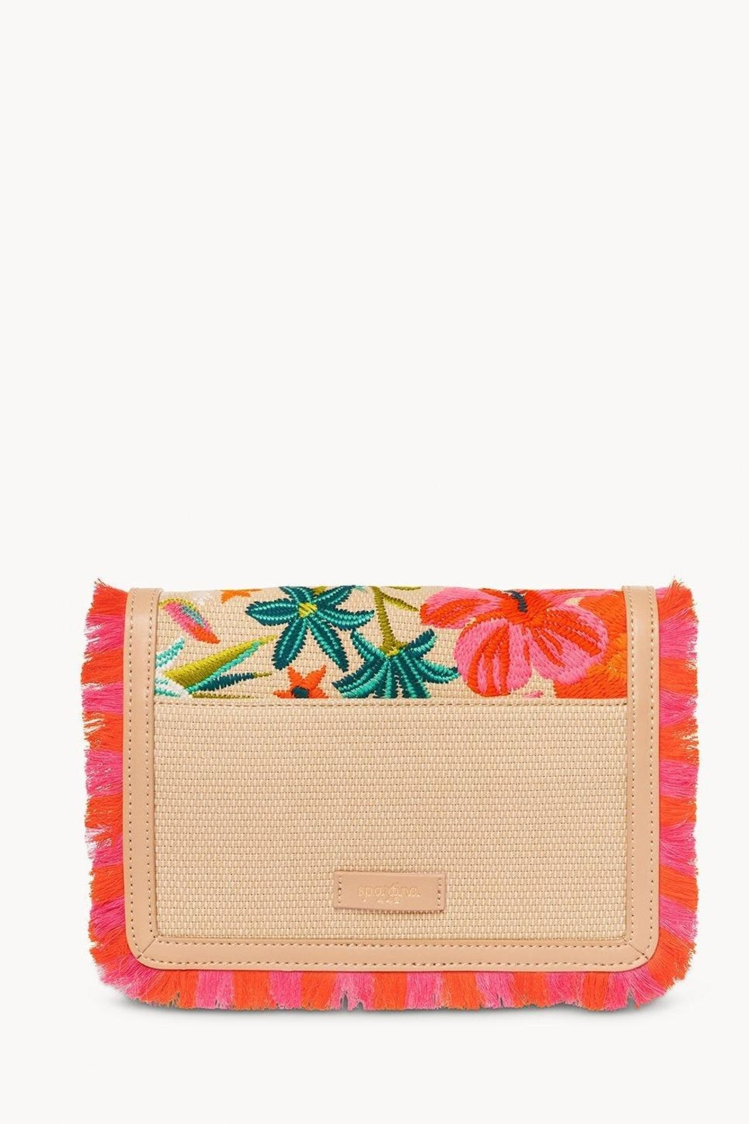 Spartina 449 Moreland Embroidered Crossbody - Side Cropped Image