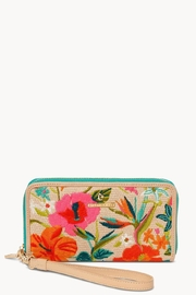 Spartina 449 Moreland Embroidered Wallet - Front cropped