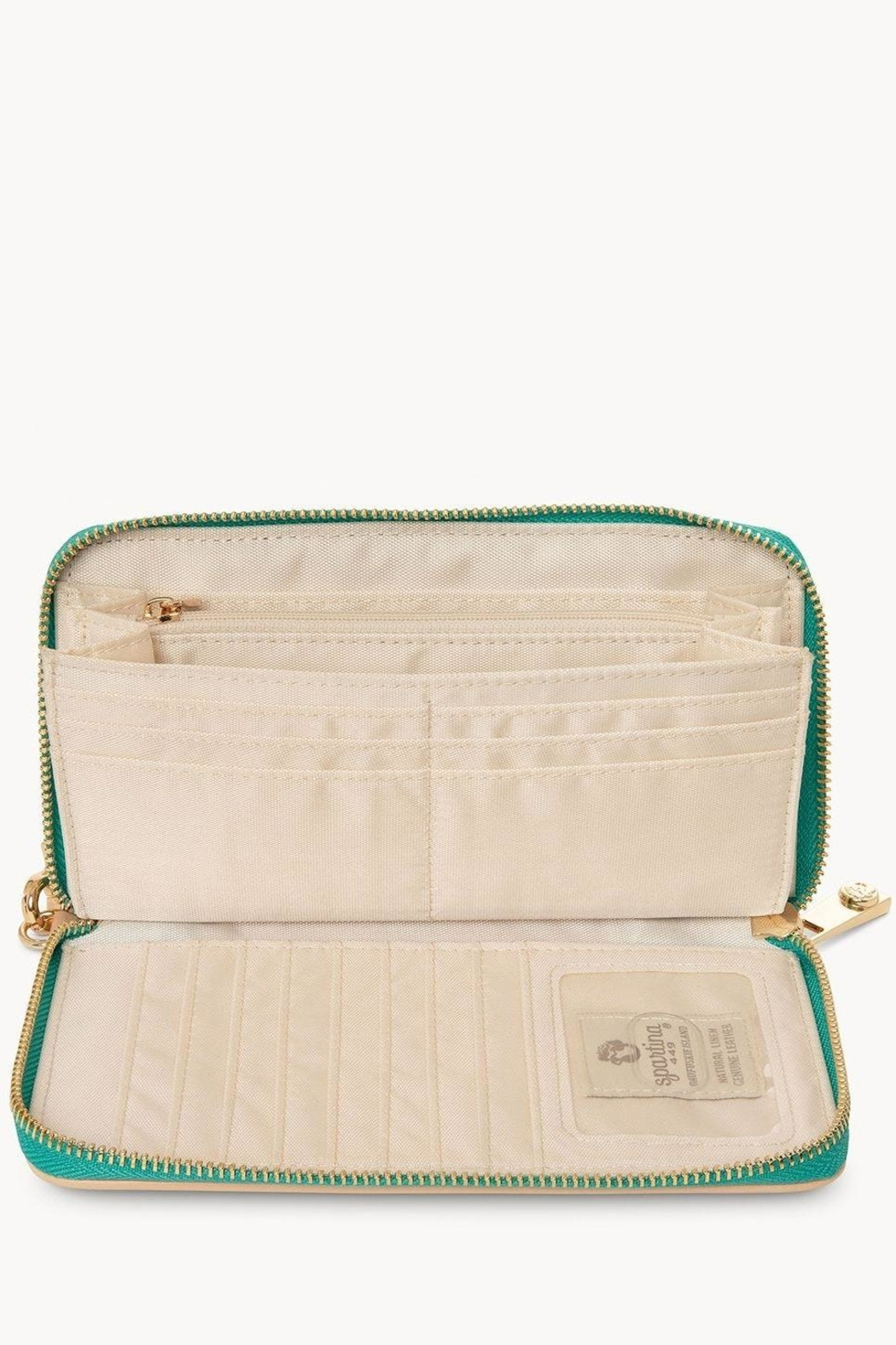 Spartina 449 Moreland Embroidered Wallet - Front Full Image