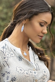 Spartina 449 Naia Oval Necklace - Front full body