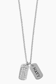 Spartina 449 Navy Necklace - Product Mini Image
