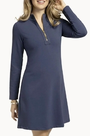 Spartina 449 Nora Half-Zip Dress - Product Mini Image