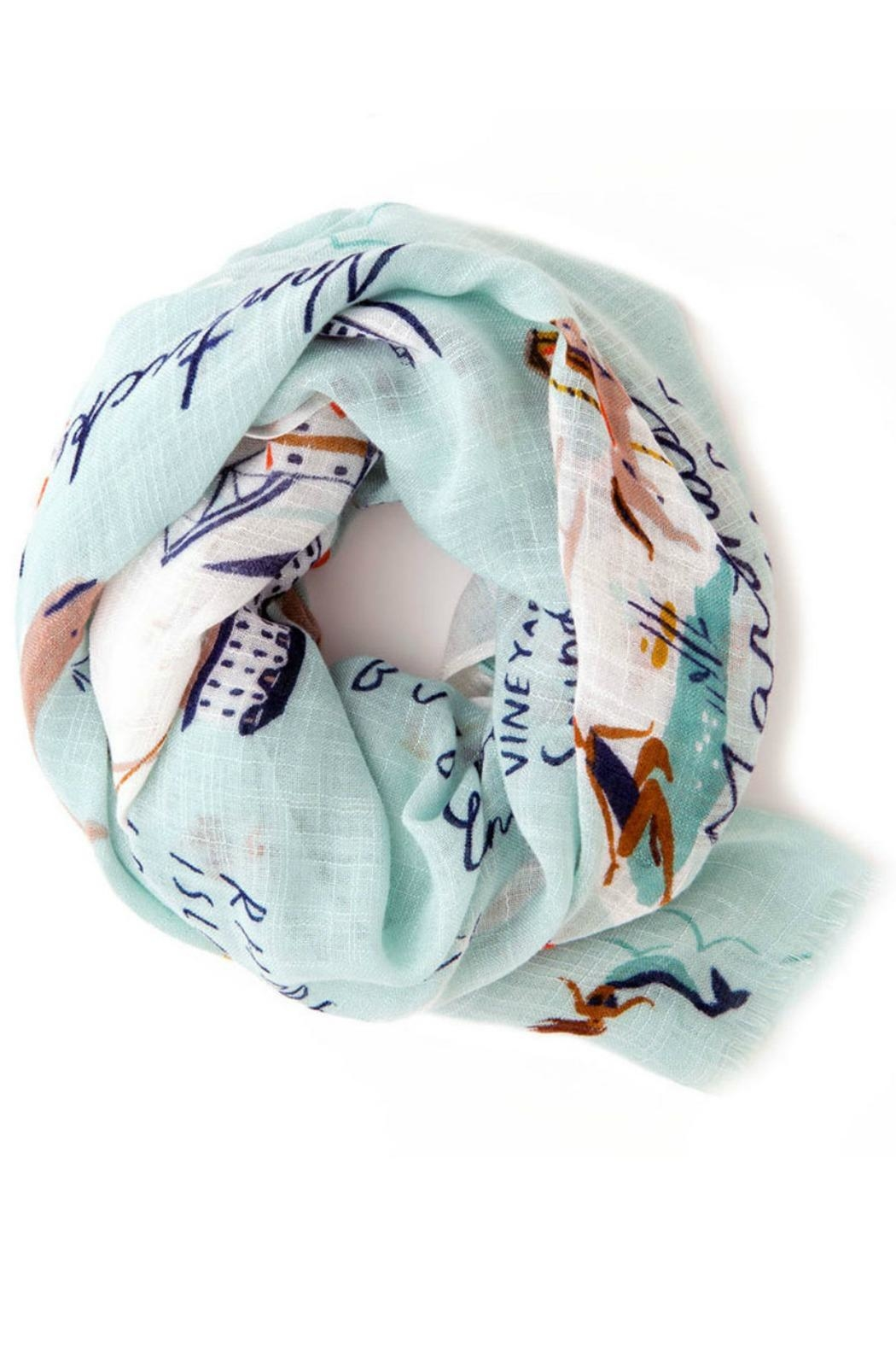 Spartina 449 Northeastern Harbors Scarf - Main Image