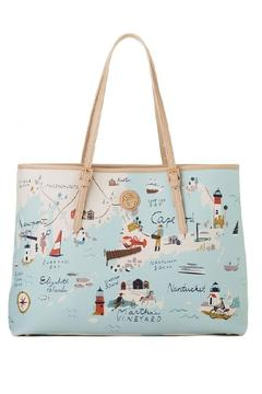 Spartina 449 North Eastern Harbors Tote - Product List Image