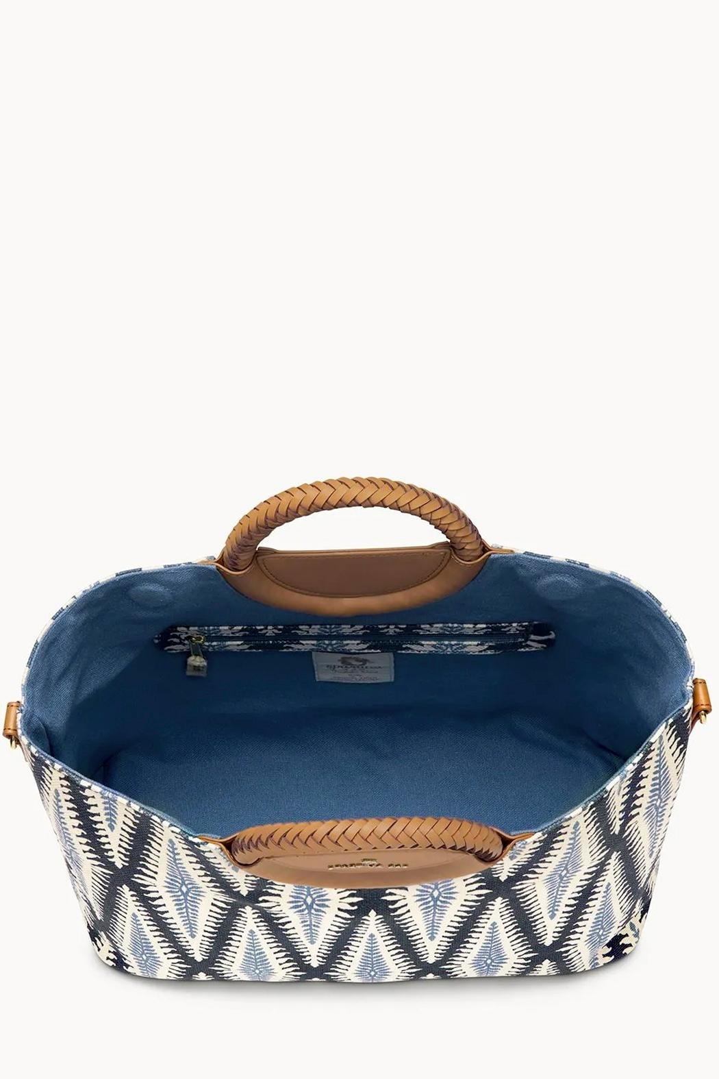 Spartina 449 Lighthouse Olivia Tote - Side Cropped Image