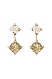 Spartina 449 Patina Ear Jacket-Earrings - Front cropped