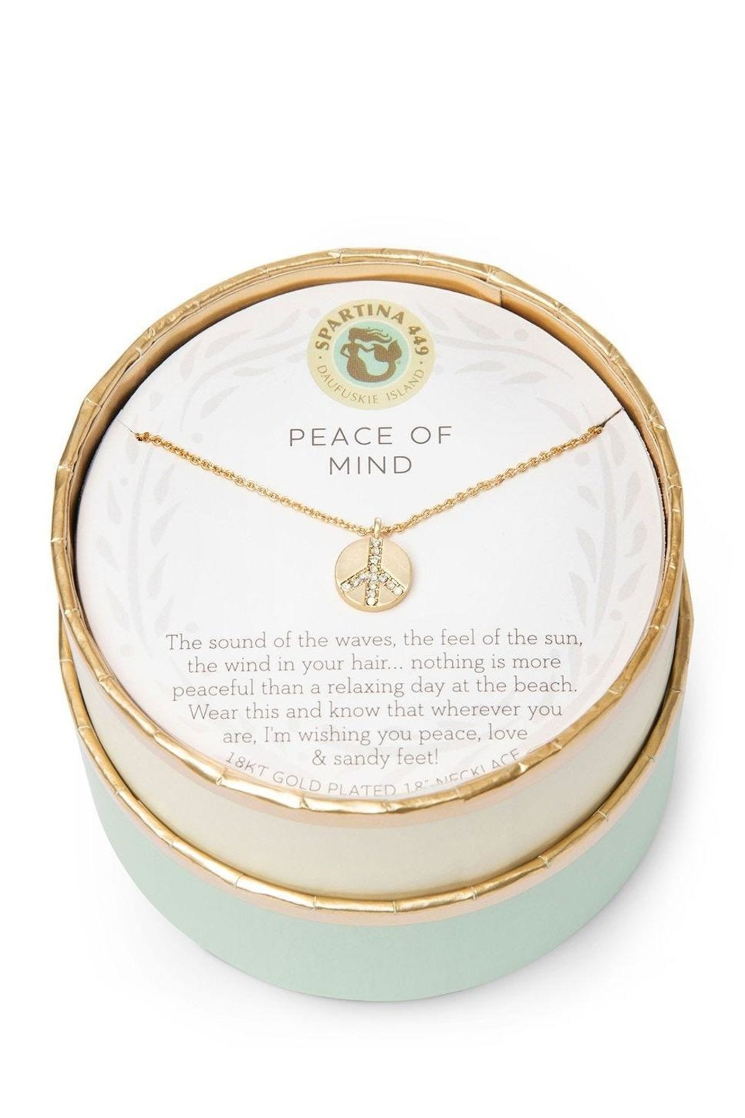 Spartina 449 Peace Of Mind Necklace - Front Full Image