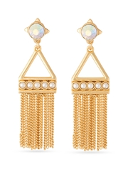 Spartina 449 Pearl Tassel Earrings - Product Mini Image