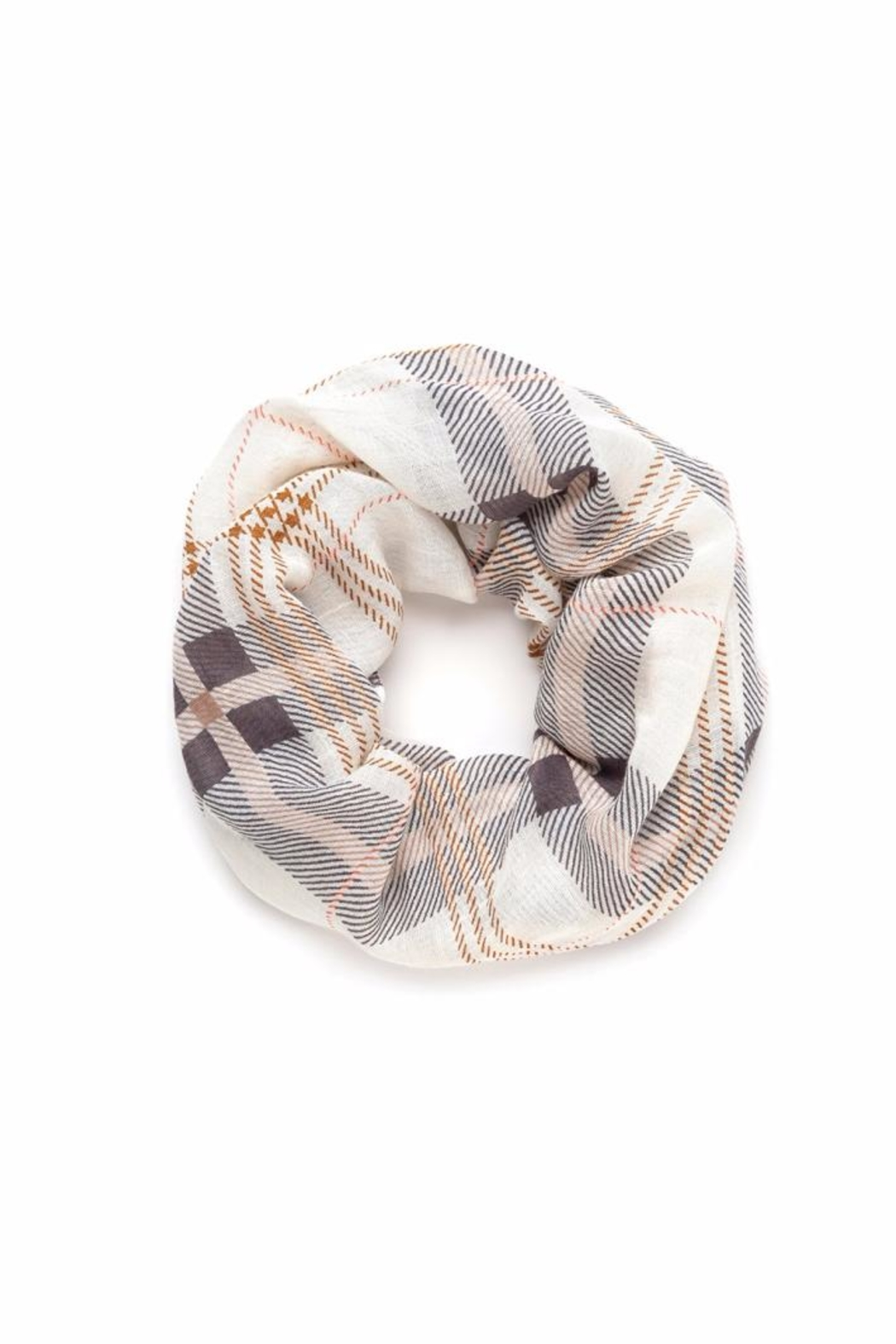 Spartina 449 Plaid Infinity Scarf - Front Cropped Image